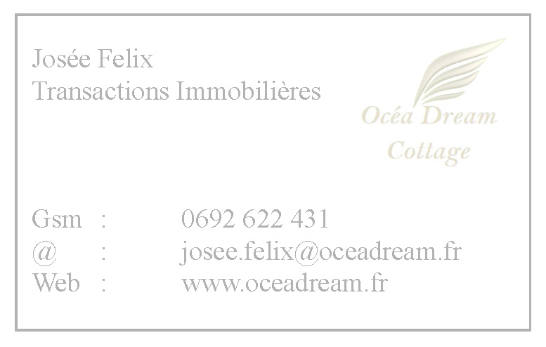 Carte Josée Felix Océa'Dream
